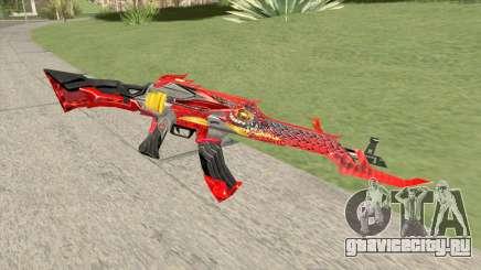AK-47 (Unicorn Fire) для GTA San Andreas