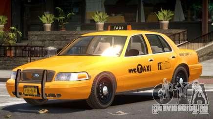 Ford Crown Victoria Taxi NY для GTA 4