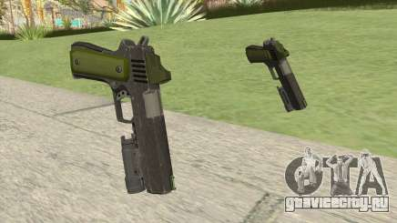Heavy Pistol GTA V (Green) Flashlight V1 для GTA San Andreas