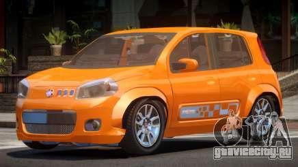 Fiat Novo Uno RS для GTA 4