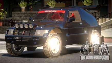 Mitsubishi Pajero Rally Sport для GTA 4