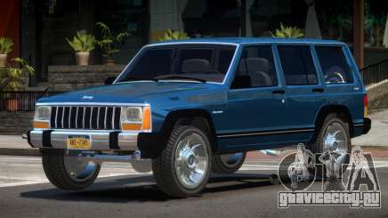 1990 Jeep Cherokee V1.0 для GTA 4