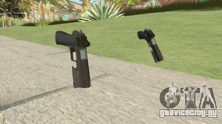 Heavy Pistol GTA V (OG Black) Flashlight V1 для GTA San Andreas