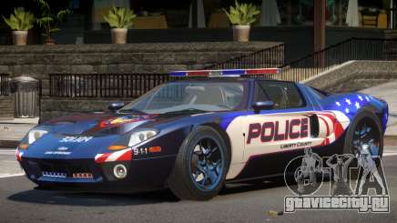 Ford GT1000 Police V1.0 для GTA 4