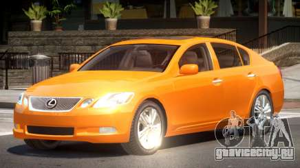 Lexus GS450 RS для GTA 4