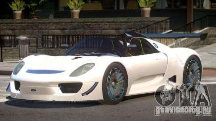 Porsche 918 GT-Sport для GTA 4