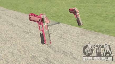 Heavy Pistol GTA V (Pink) Flashlight V1 для GTA San Andreas