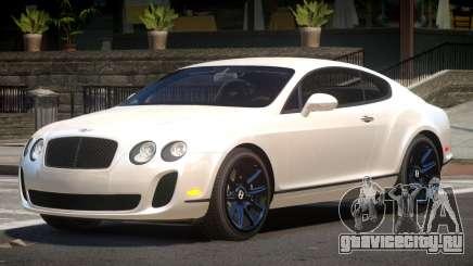 Bentley Continental Tuned для GTA 4