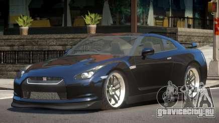 Nissan GTR R35 ST для GTA 4