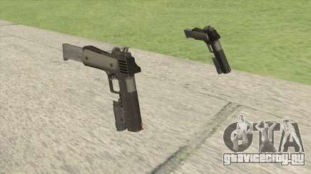 Heavy Pistol GTA V (NG Black) Flashlight V2 для GTA San Andreas