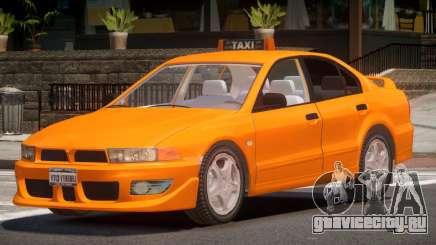 Mitsubishi Galant Taxi V1.0 для GTA 4