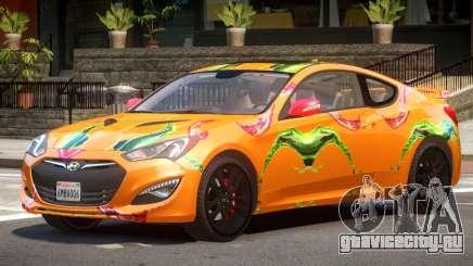 Hyundai Genesis CV PJ1 для GTA 4
