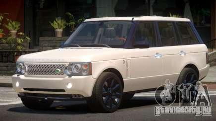 Range Rover Supercharged RS для GTA 4