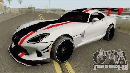 Dodge Viper ACR 2016 MQ для GTA San Andreas
