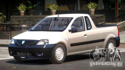 Dacia Logan ST для GTA 4