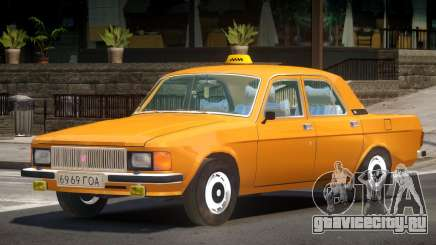 GAZ 3102 Taxi V1.0 для GTA 4