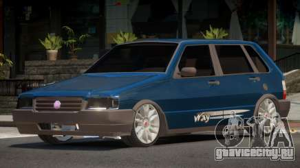 Fiat Uno V1.0 для GTA 4