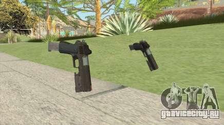 Heavy Pistol GTA V (OG Black) Flashlight V2 для GTA San Andreas