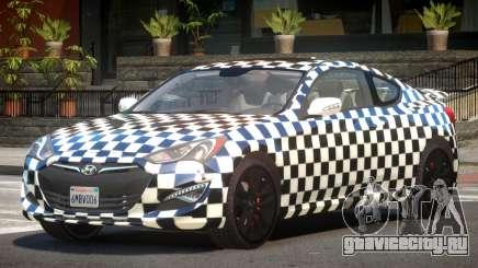 Hyundai Genesis RS PJ2 для GTA 4