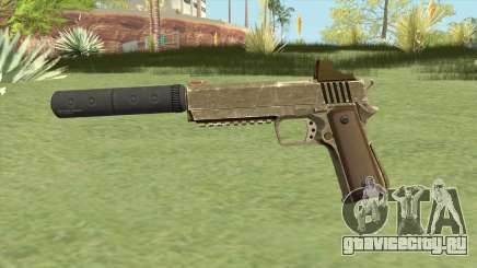 Heavy Pistol GTA V (Army) Suppressor V1 для GTA San Andreas