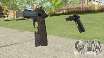 Heavy Pistol GTA V (LSPD) Flashlight V2 для GTA San Andreas