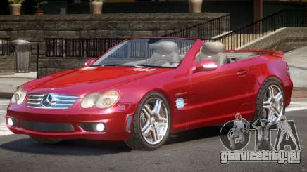 Mercedes Benz SL65 V1.1 для GTA 4