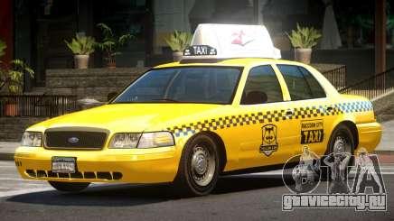 1993 Ford Crown Victoria Taxi для GTA 4