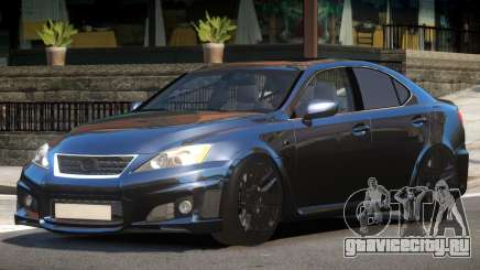 Lexus IS-F Transit для GTA 4