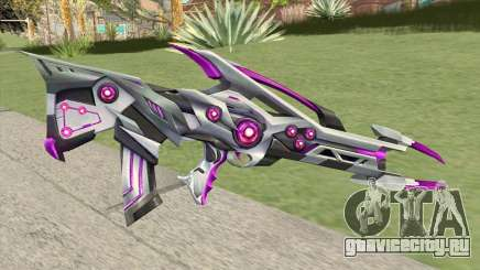 Famas (Black Widow Purple) для GTA San Andreas
