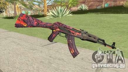 AK-47 (Phantom Disruptor) для GTA San Andreas