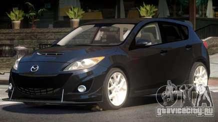 Mazda 3 S-Edit для GTA 4