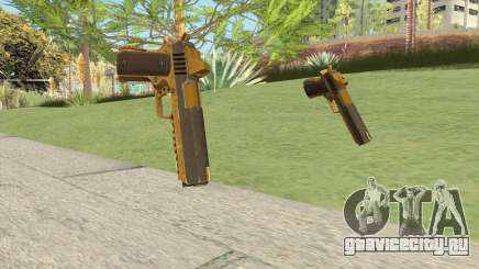 Heavy Pistol GTA V (Gold) Base V1 для GTA San Andreas