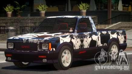 GMC Syclone RS PJ3 для GTA 4