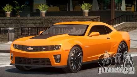 Chevrolet Camaro ZL1 Sport для GTA 4
