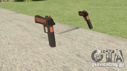 Heavy Pistol GTA V (Orange) Base V1 для GTA San Andreas
