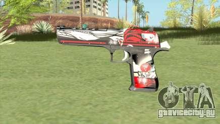 Desert Eagle (Graffiti) для GTA San Andreas