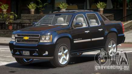 Chevrolet Avalanche ST для GTA 4