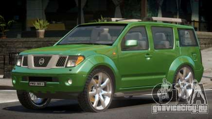 Nissan Pathfinder V1.0 для GTA 4