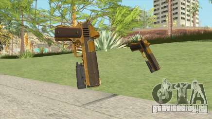 Heavy Pistol GTA V (Gold) Flashlight V1 для GTA San Andreas