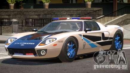 Ford GT1000 Police V1.3 для GTA 4