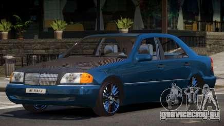 Mercedes C220 V1.0 для GTA 4