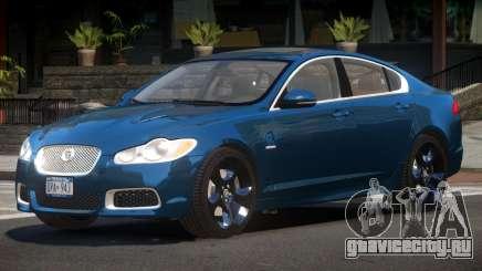 Jaguar XFR Edit для GTA 4