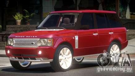 Range Rover Supercharged Edit для GTA 4