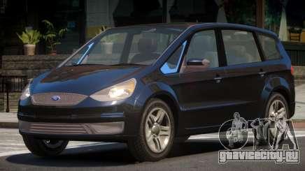 Ford S-Max V1.0 для GTA 4