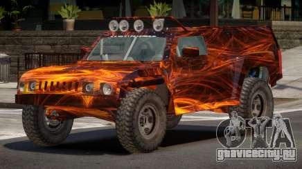 Hummer H3 Edit PJ1 для GTA 4