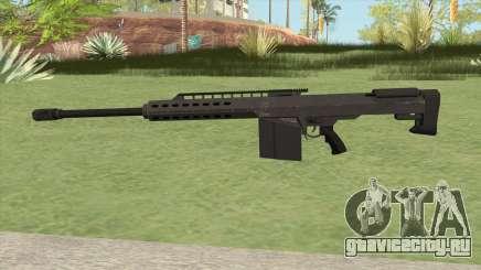 Heavy Sniper GTA V (Black) V2 для GTA San Andreas