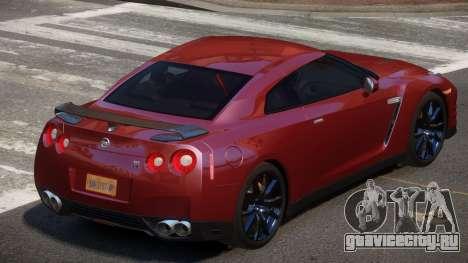 Nissan GT-R Qz для GTA 4