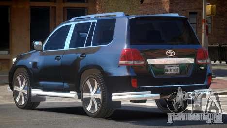 Toyota Land Cruiser 200 SE для GTA 4