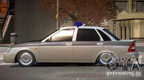 Lada Priora Police V1.1 для GTA 4