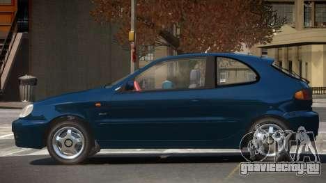 Daewoo Lanos RS для GTA 4